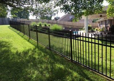 aluminum fence knoxville tn